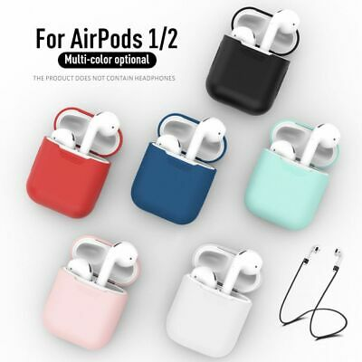 AU5.25 • Buy Apple AirPods Silicone Gel Case Shockproof Protective Skin Cover For AirPods 1 2