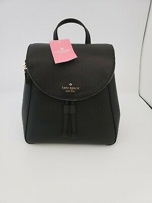 $ CDN171.68 • Buy Kate Spade Medium Flap Backpack Pebbled Leather WKR00327