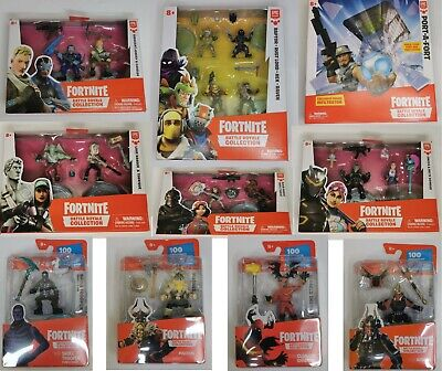 $ CDN13.83 • Buy Official Fortnite Battle Royale 4 Pack 2 Pack Duo Single Figures Port A Fort