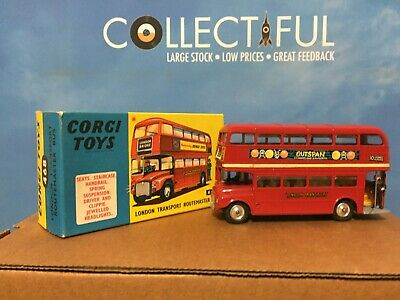 $ CDN62.75 • Buy Corgi # 468 - Routemaster Double Decker Bus -  Diecast Model In Original Box 🔥