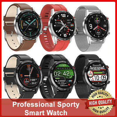 AU53.46 • Buy Men Smart Watches Android Smartwatch Fitness Blood Pressure Heart Rate Tracker