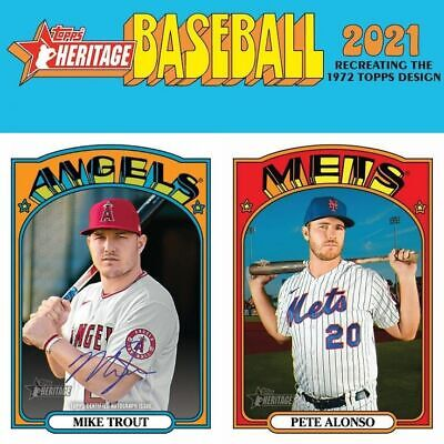 $1.49 • Buy 2021 Topps Heritage Pick Your Card To Complete Your Set!!(251-400)