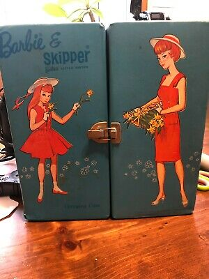 $ CDN8.46 • Buy Vintage 1964 Barbie & Skipper Doll Blue SPP Case