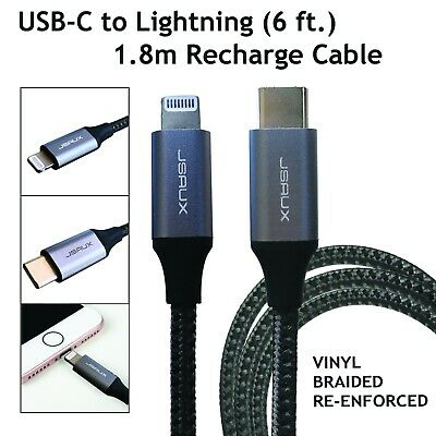 AU13.50 • Buy USB-C To Lightning Cable 6ft, IPhone Compatible [MFi Certified]