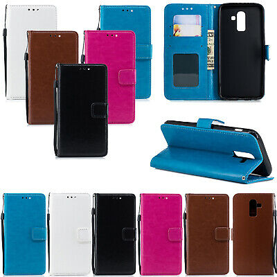 $ CDN4.62 • Buy Case For IPhone 12 12 Pro 7 7 Plus 6S Samsung S8 S9 S7 Leather Flip Wallet Cover