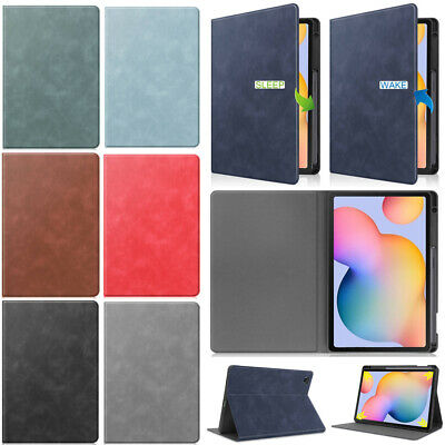 AU24.09 • Buy For Samsung Galaxy Tab S6 Lite 10.4  P610 P615 Smart Case Cover With Pen Holder