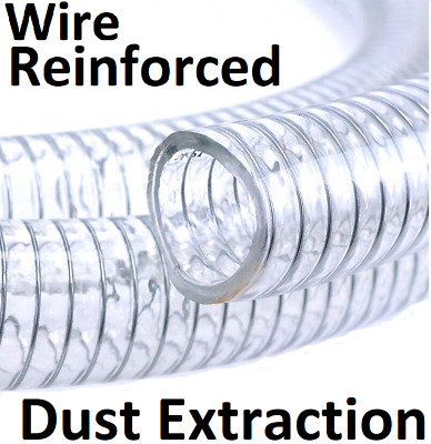 Hose Suction & Delivery Hose Air Dust Sawdust Wood Shavings Smoth Bore Tube Pipe • 5.95£
