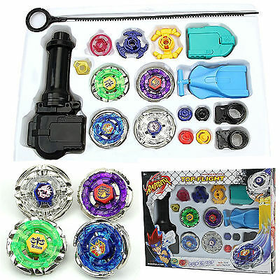 £14.09 • Buy Beyblade Metal Master Fusion Fight Launcher Grip String Super Battle Top Toy Set