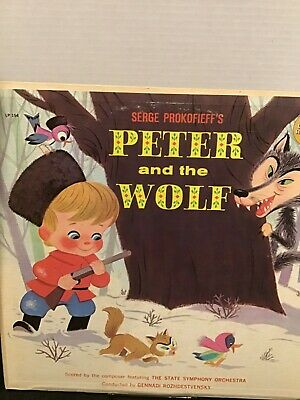 £7.80 • Buy Serge Prokofieff's Peter And The Wolf LP154