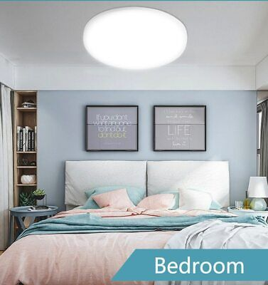 £14.99 • Buy LED Ceiling Light Round Panel Down Lights Bathroom Kitchen Living Room Wall Lamp
