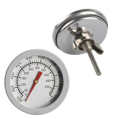 £3.39 • Buy 50-500℃ Stainless Steel Barbecue BBQ Smoker Grill Thermometer Temperature Gauge