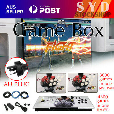 AU148.99 • Buy AU 2021 New 8000/3399 Games Pandora's Box Video 3D Game HD Video Arcade Consoles