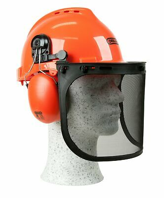 £22.99 • Buy OREGON Yukon Chainsaw Safety Helmet With Protective Ear Muff And Mesh Visor,
