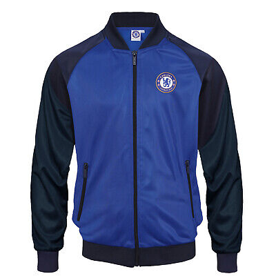 £34.99 • Buy Chelsea FC Mens Jacket Track Top Retro OFFICIAL Football Gift