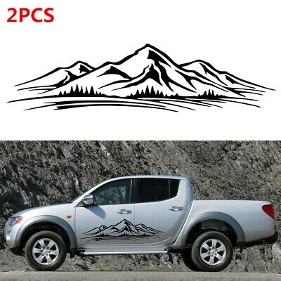 $20.60 • Buy 2x Self-adhesive Decal Forest Vinyl Graphic Fit For Car Camper RV Trailer Decor
