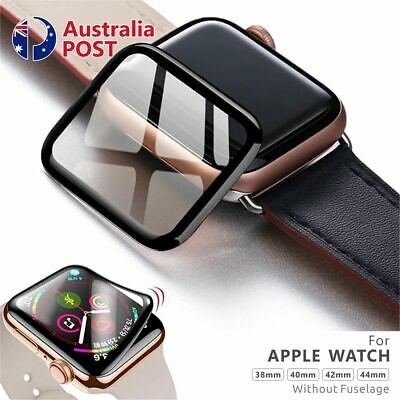 AU5.25 • Buy For Apple Watch IWatch 6 5 4 SE 44 &40 Mm Tempered Glass FULL Screen Protector