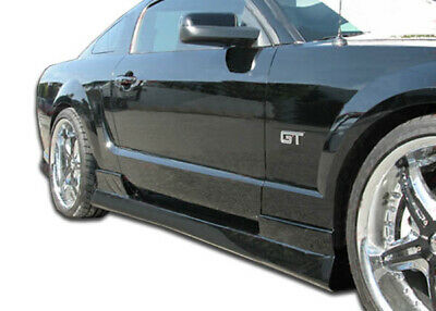 $231 • Buy Duraflex Stallion Side Skirts Body Kit For 05-14 Ford Mustang