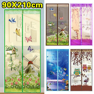 £4.99 • Buy Magic Curtain Door Mesh Magnetic Fastening Mosquito Fly Bug Insect Net Screen U