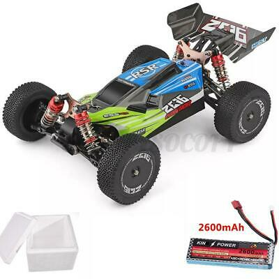 $ CDN133 • Buy Wltoys 144001 1/14 4WD 60km/h High Speed Brushed RC Car Drift Upgraded Battery