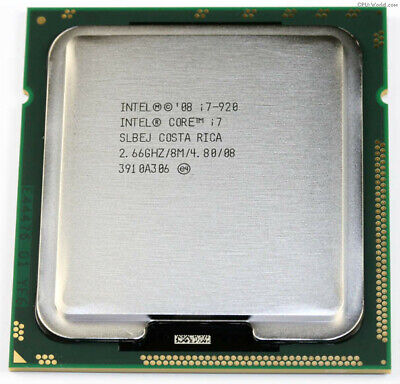 $ CDN19 • Buy INTEL Core I7 920 Quad Core 2.66GHz LGA 1366 Processor SRBEJ Fully Tested