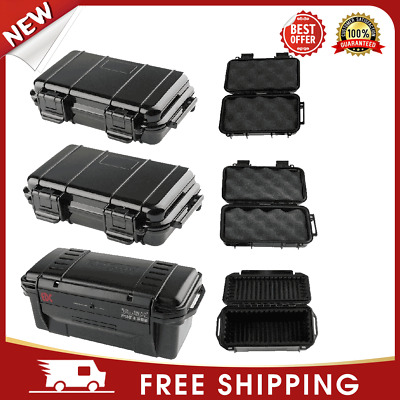 £9.90 • Buy Outdoor Shockproof Sealed Waterproof Safety Case ABS Plastic Tool Dry Box