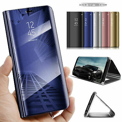 £1.99 • Buy For Huawei Mate 20 Pro P10 Lite P8 Smart View Mirror Flip Wallet Leather Case
