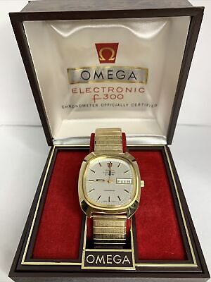 AU1285.71 • Buy Omega Electronic F300 Hz Constellation ST 198.0076 Cal 1260 Stainless Steel