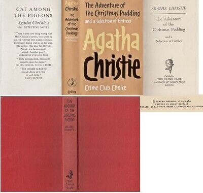 £45 • Buy Agatha Christie  THE ADVENTURE OF THE CHRISTMAS PUDDING  1st W/fdj 1960 Collins