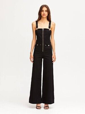 AU105 • Buy Alice Mccall Quincy Overalls, Black - Size 6