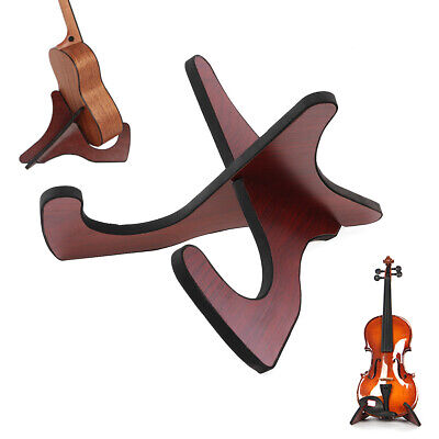 AU16.87 • Buy Guitar Stand Portable Ukulele Violin Wooden Foldable Holder Stand Collapsible