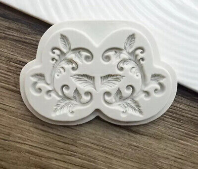 £3.50 • Buy Vintage Baroque Silicone Mould Relief Cake Lace Border Fondant Baking Mould