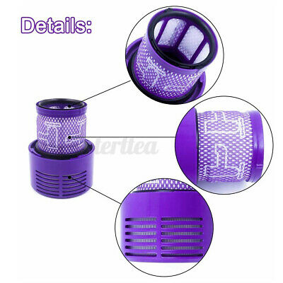 AU20.59 • Buy 🇦🇺 2PCS Vacuum Filter For DYSON All V10 Series Cyclone Absolute Animal SV12