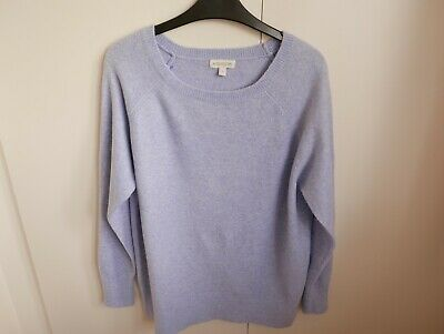 Monsoon Lilac Slouchy Knit Jumper. Size S. Very Good Condition • 4.50£