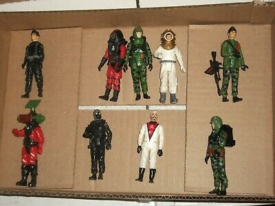 $ CDN87.87 • Buy 1980  #232 Batch LOT Vintage 3 3/4  Gi Joe ACTION FORCE England Figures