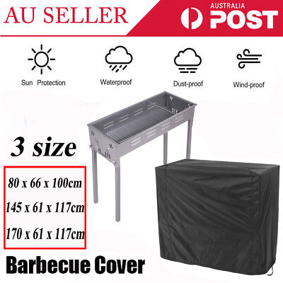 AU20.98 • Buy BBQ Grill Cover4/5/6Burner Waterproof Outdoor Gas Charcoal Barbecue Protector AU