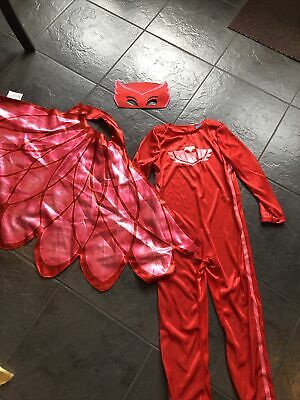 PJ Masks Owlette Fancy Dress Up Costume Age 5-6 Years • 5£