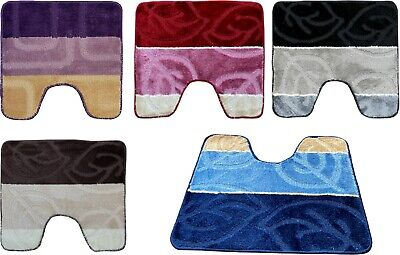 £3.50 • Buy Pedestal Mat For Toilet Or  Sink 1 Pc Multi Assorted Colours Clearance Stock