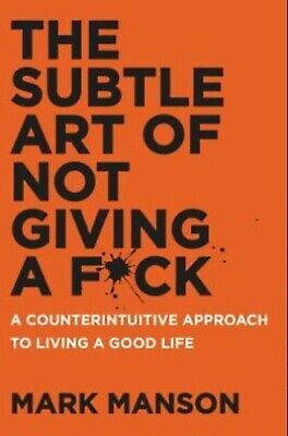 AU5.05 • Buy The Subtle Art Of Not Giving A Fck A Counterintuitive Approach To Living A Good