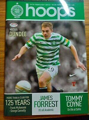 £1.25 • Buy Celtic Home Programmes 2012-2013 *choose From List*