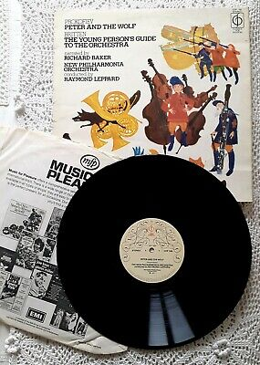 £2.75 • Buy Peter And The Wolf, Young Person's Guide, Prokofiev, Britten 1971 Vinyl LP