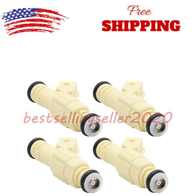 $27.49 • Buy Set Of 4 Fuel Injectors 0280155811 Fits 97-00 Dodge Stratus Chrysler Cirrus 2.0L