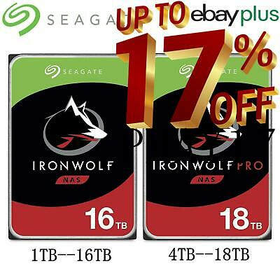 AU339 • Buy Seagate 3.5  HDD IronWolf And IronWolf Pro 1TB-18TB Internal NAS Hard Disk Drive
