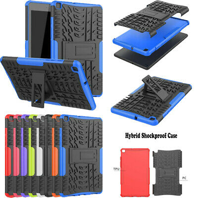 AU18.69 • Buy For Samsung Galaxy Tab A S E 3 4 Heavy Duty Shockproof Rubber Stand Case Cover
