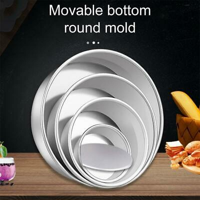 AU6.57 • Buy 4/5/6/8 Inch Cake Mould Round DIY Cakes Pastry Mould Baking Tin Pan Reusable