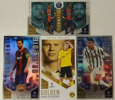 AU3.99 • Buy Topps - UEFA Champions League 2020/21 Best Of The Best Card SINGLES