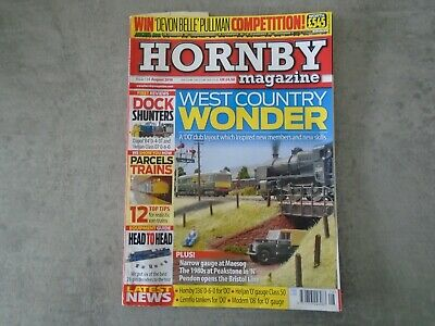 HORNBY. Magazine. August.  2018. Issue 134. West Country Wonder. • 0.99£