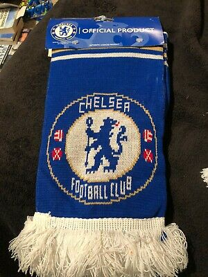 Official Chelsea Fc Scarf • 4£