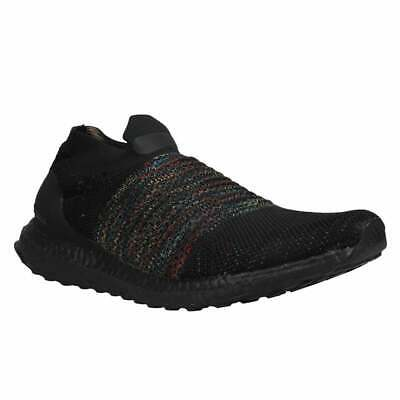 AU258.50 • Buy Adidas Ultraboost Laceless  Mens Running Sneakers Shoes    - Black