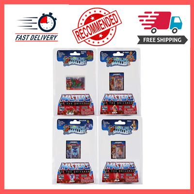 $15.04 • Buy Worlds Smallest Masters Of The Universe Bundle Set Of 4 Mini Figures - He-Man -