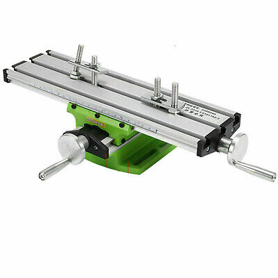 $35.98 • Buy 2Axis Milling Machine Compound Work Table Cross Sliding Bench Drill Vise